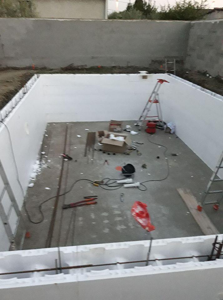 Auto Construction Piscine Irribloc 7x4m Traitement Sel Piscines